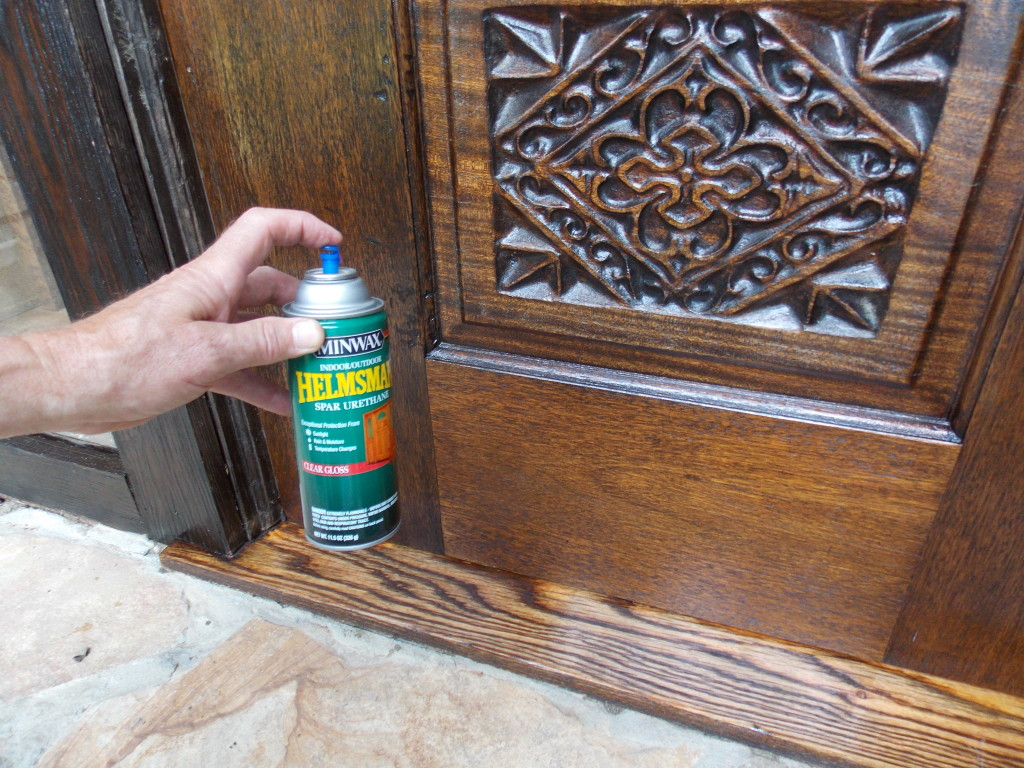 how to refinish front doorRefinishing an Oak Threshold  Minwax Blog