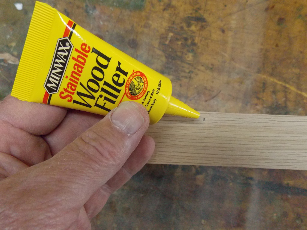 Filling those unwanted holes minwax blog for Wood floor crack filler