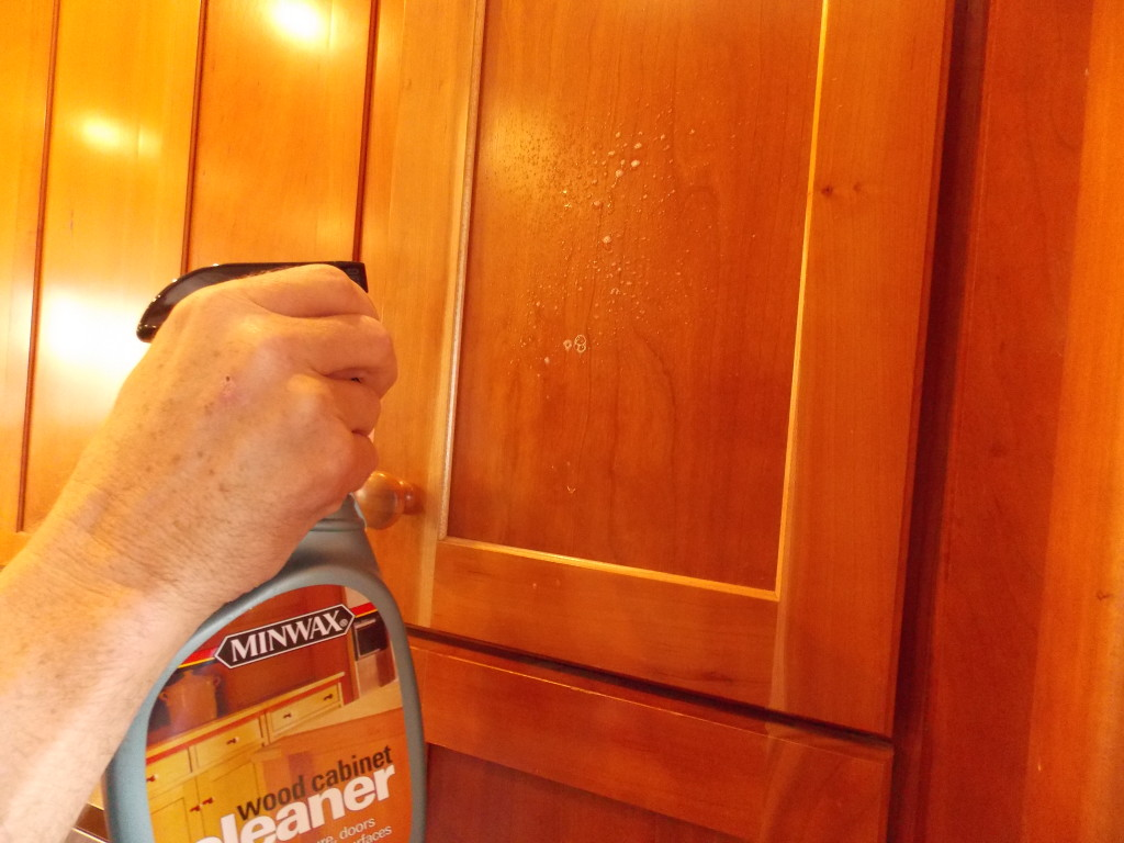 Cleaning your kitchen cabinets minwax blog for Best cleaner for greasy wood kitchen cabinets