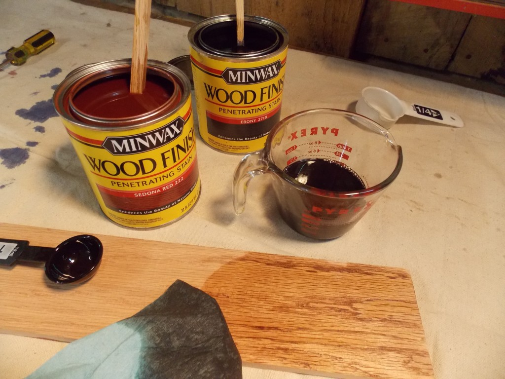 Mixing Wood Stains Custom Mixing Stains Minwax Blog