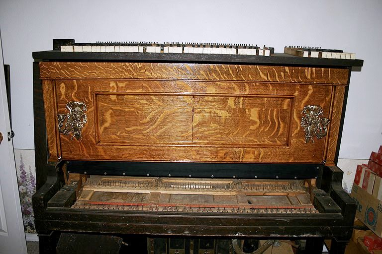 Piano front - The Life Of A DIYer, Picker And Piano Restorer Part II Minwax Blog