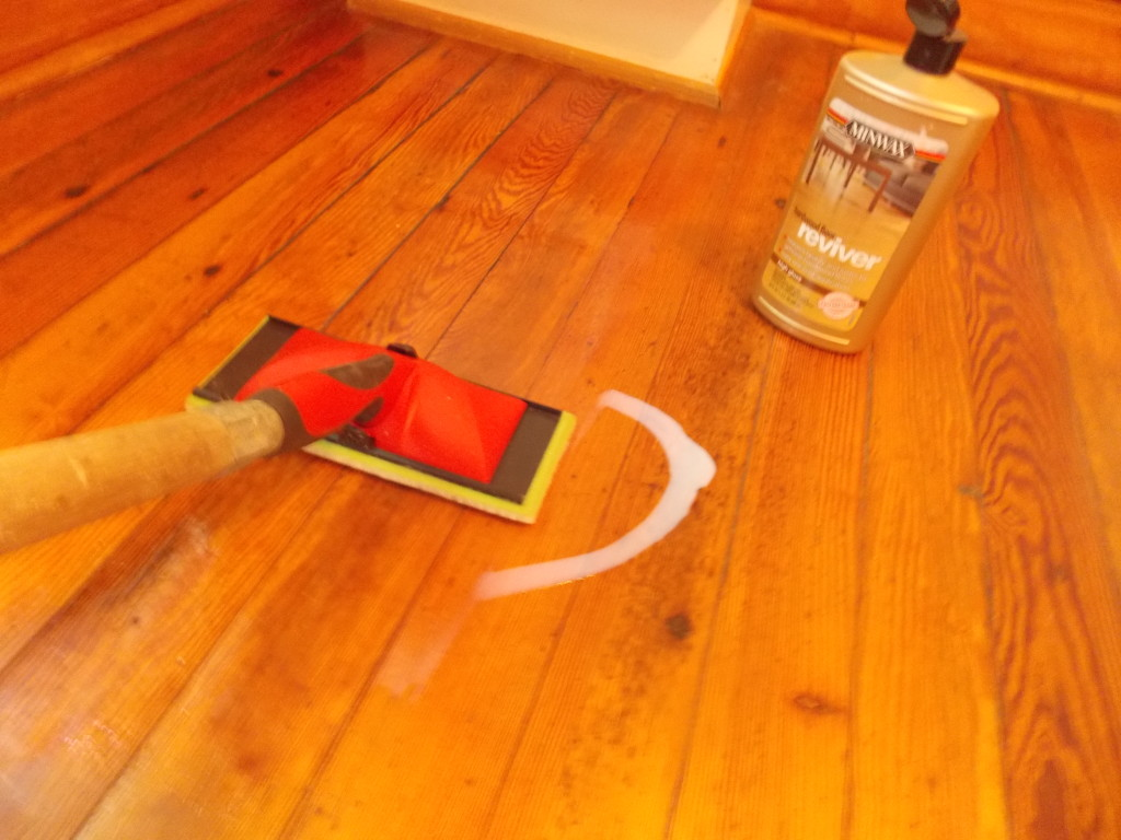 Hardwood Floor Protection hardwood stair protection Then Use A Damp Painters Pad To Spread The Hardwood Floor Reviver Across The Floor Do Not Spread It Too Thin Work In The Direction Of The Woods Grain