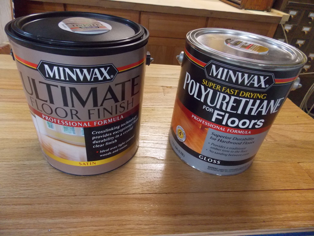 Minwax super fast drying polyurethane - When It Comes To Floors I Have Always Been A Traditional Oil Based Sort Of Guy But When I Heard About All The Advantages Of The Water Based Minwax