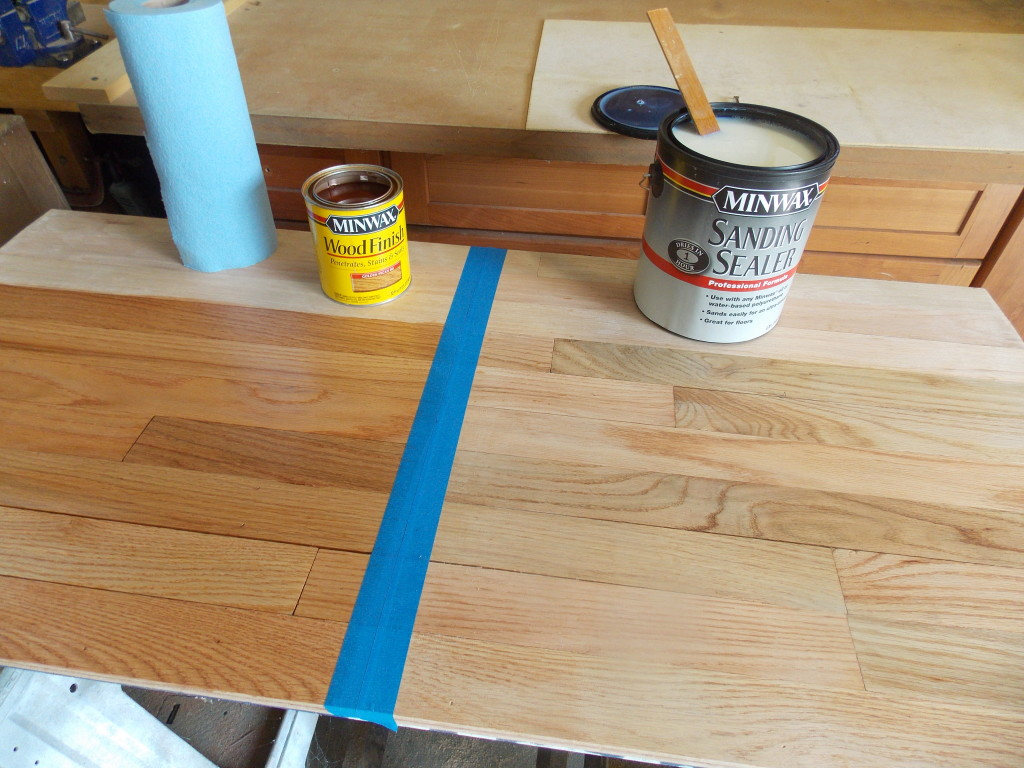 Putting New Ultimate Floor Finish To