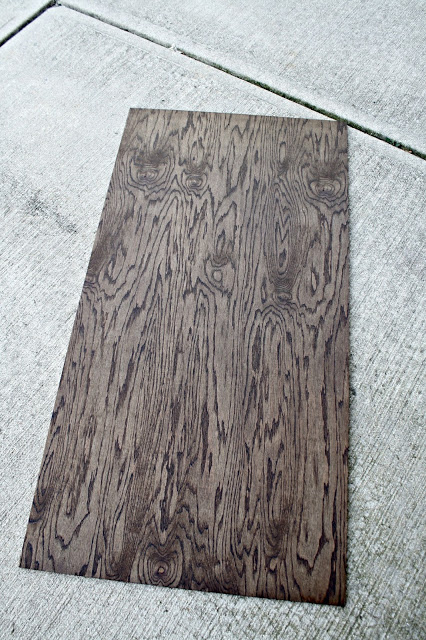 Dark Walnut Stained Wood