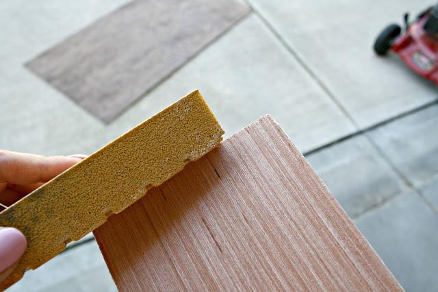 Sanding Pieces