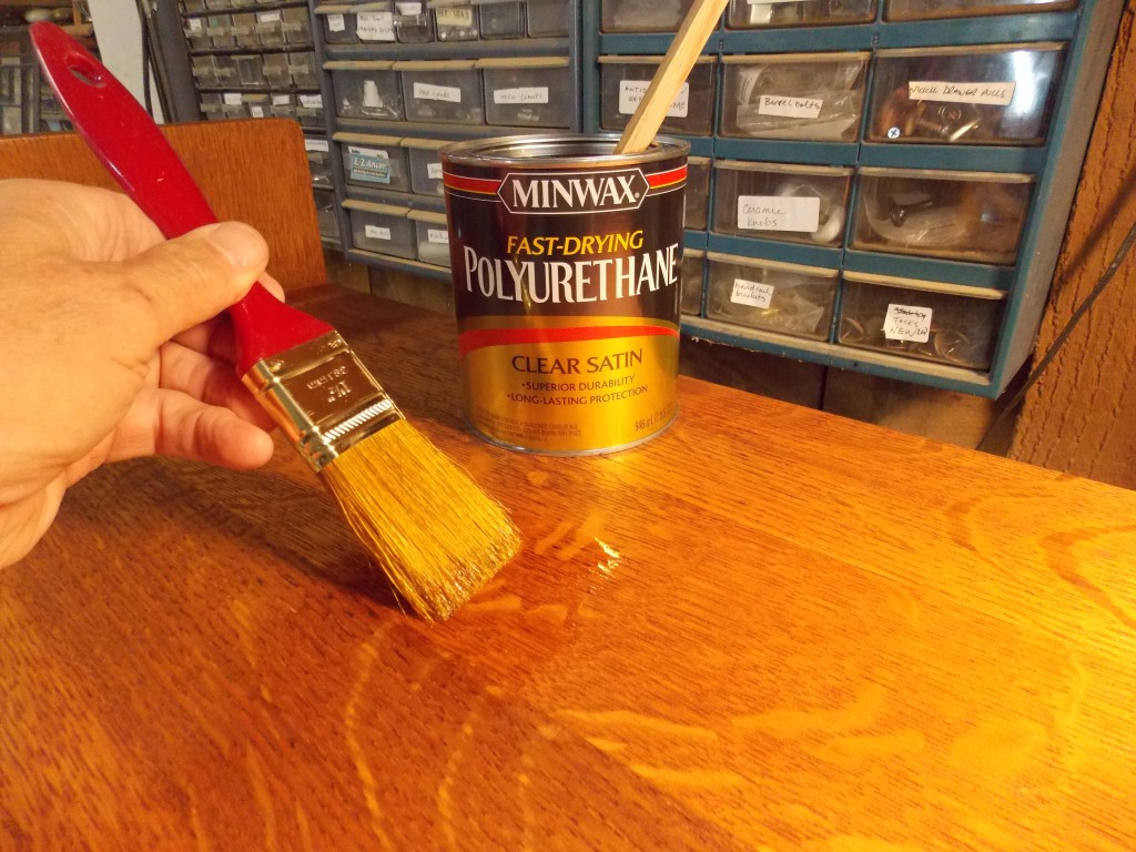 Minwax super fast drying polyurethane - Instead Of Shellac This Time I Used The Satin Sheen Of Minwax Fast Drying Polyurethane The Satin Sheen Gives It An Antique Look But It Still Has The