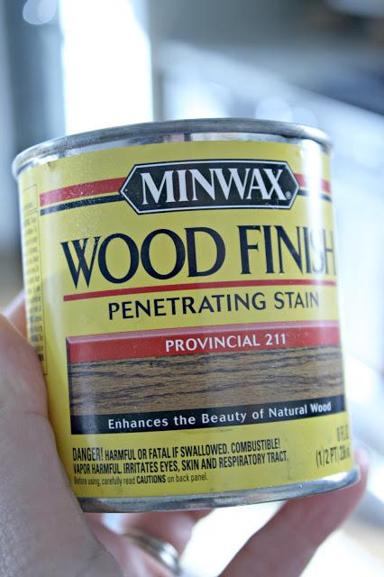 Provincial Wood Finish