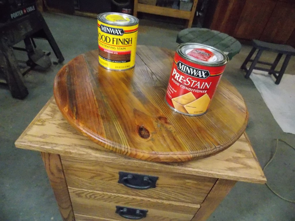 Minwax super fast drying polyurethane - After Giving It An Extra Coat Of Minwax Fast Drying Polyurethane For Protection I Then Attached It To The Top Of My Rolling Cart Making It Possible For