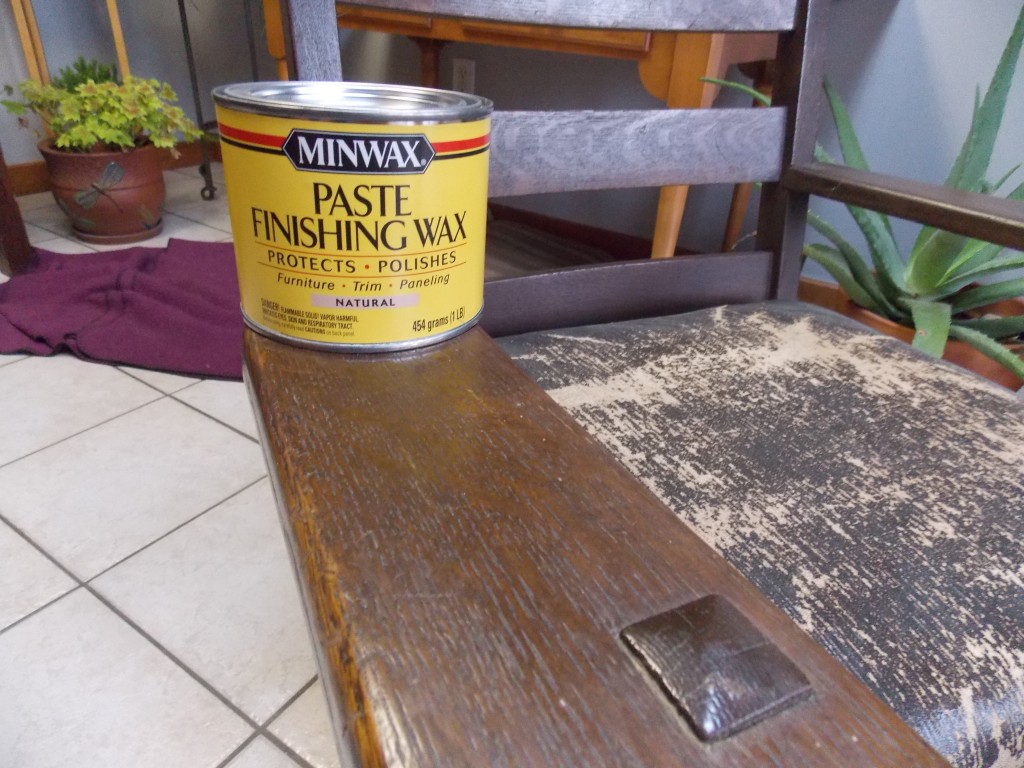 The Best Way To Preserve And Protect An Antique Finish Is With A Coat Of  Minwax® Paste Finishing Wax, In Either Natural Or Special Dark.