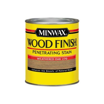 Minwax Wood Finish Weathered Oak