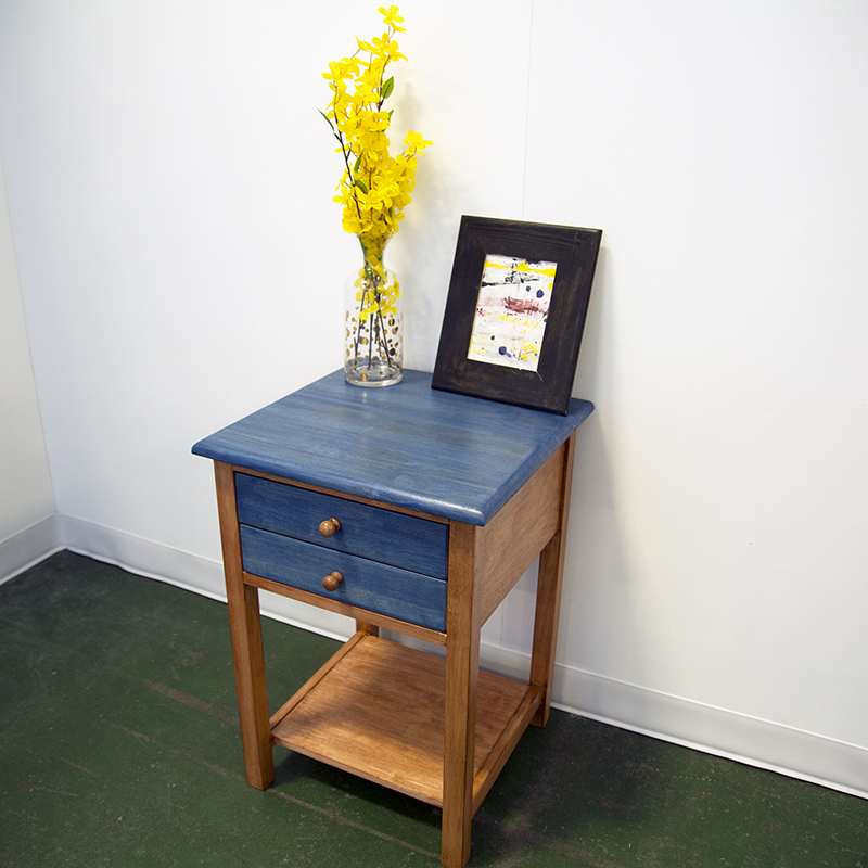 Finished Nightstand at Renegade Craft Fair