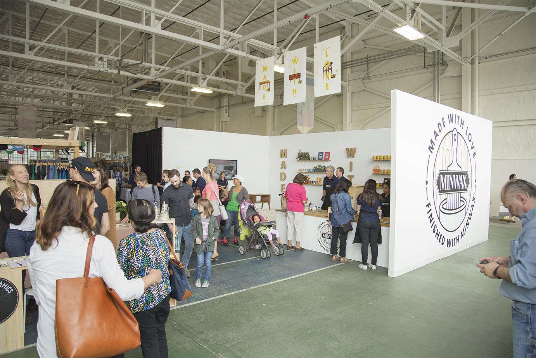 Minwax Booth at the Renegade Craft Fair