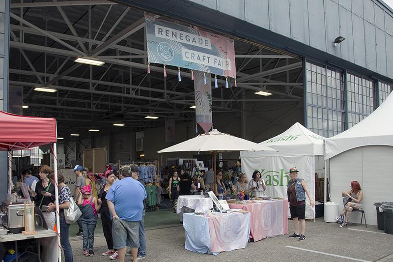 Renegade Craft Fair Entrance