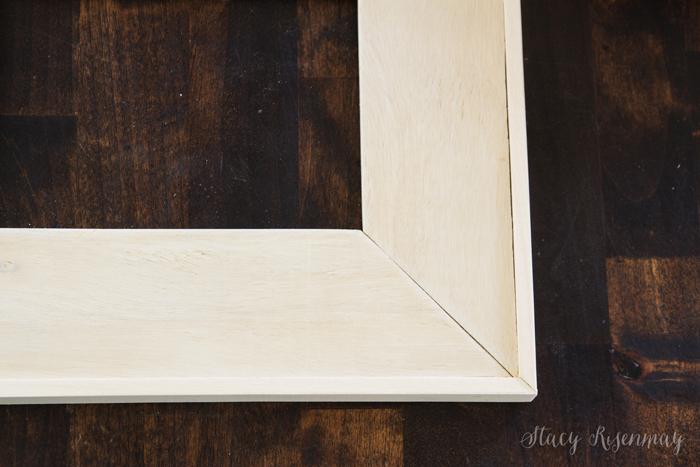 frame with trim added