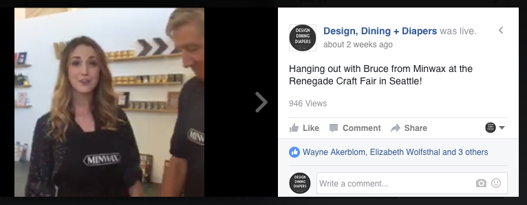 Facebook Live at the Renegade Fair
