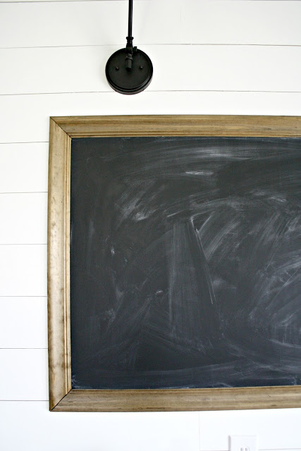 Chalkboard with trim