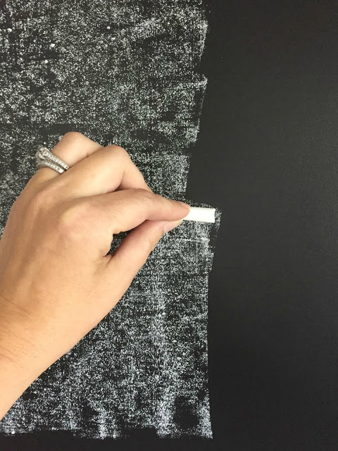 seasoning the chalkboard