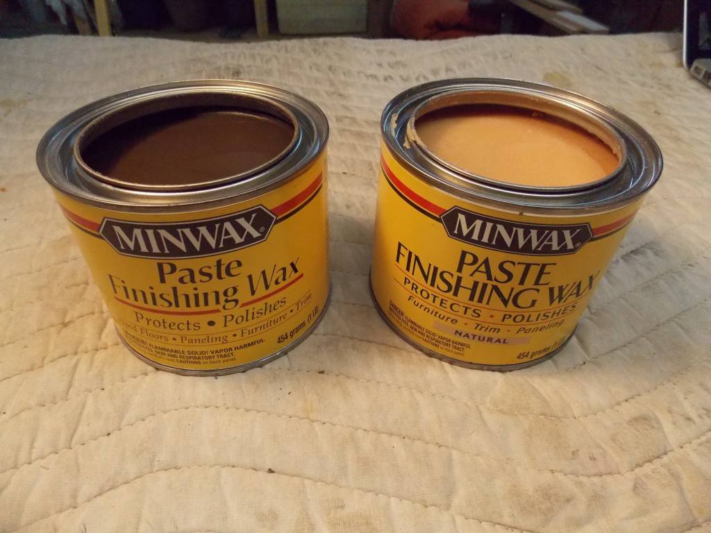Minwax® Makes A High Quality Paste Wax In Two Colors: Natural And Special  Dark For Darker Woods, Such As My Vintage Stool.