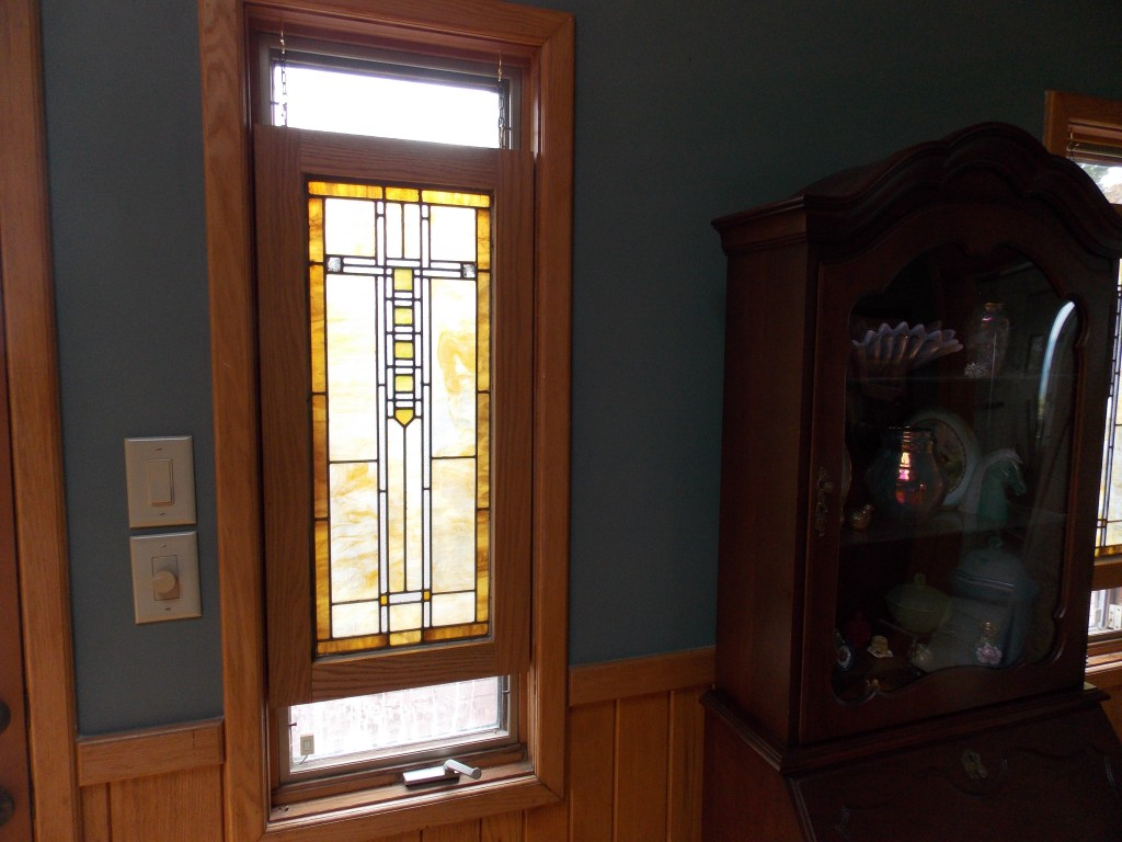 Painted Cabinets With Stained Doors Cabinet Designs