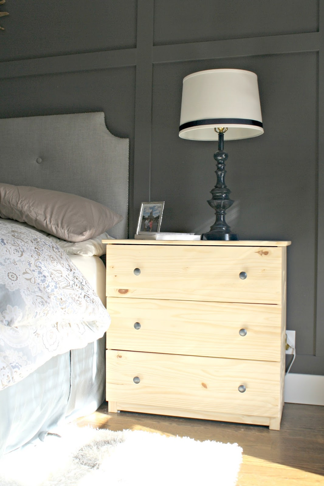 Finally A Beautiful Nightstand Makeover Minwax Blog