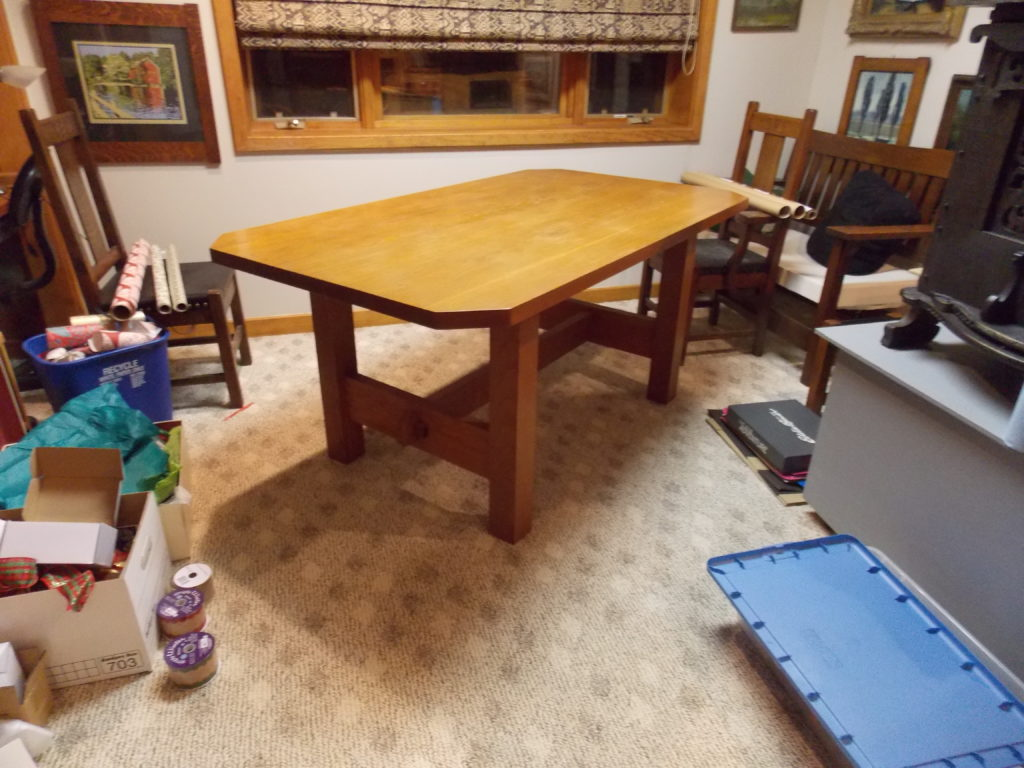 Revive an Old Dining Room Table