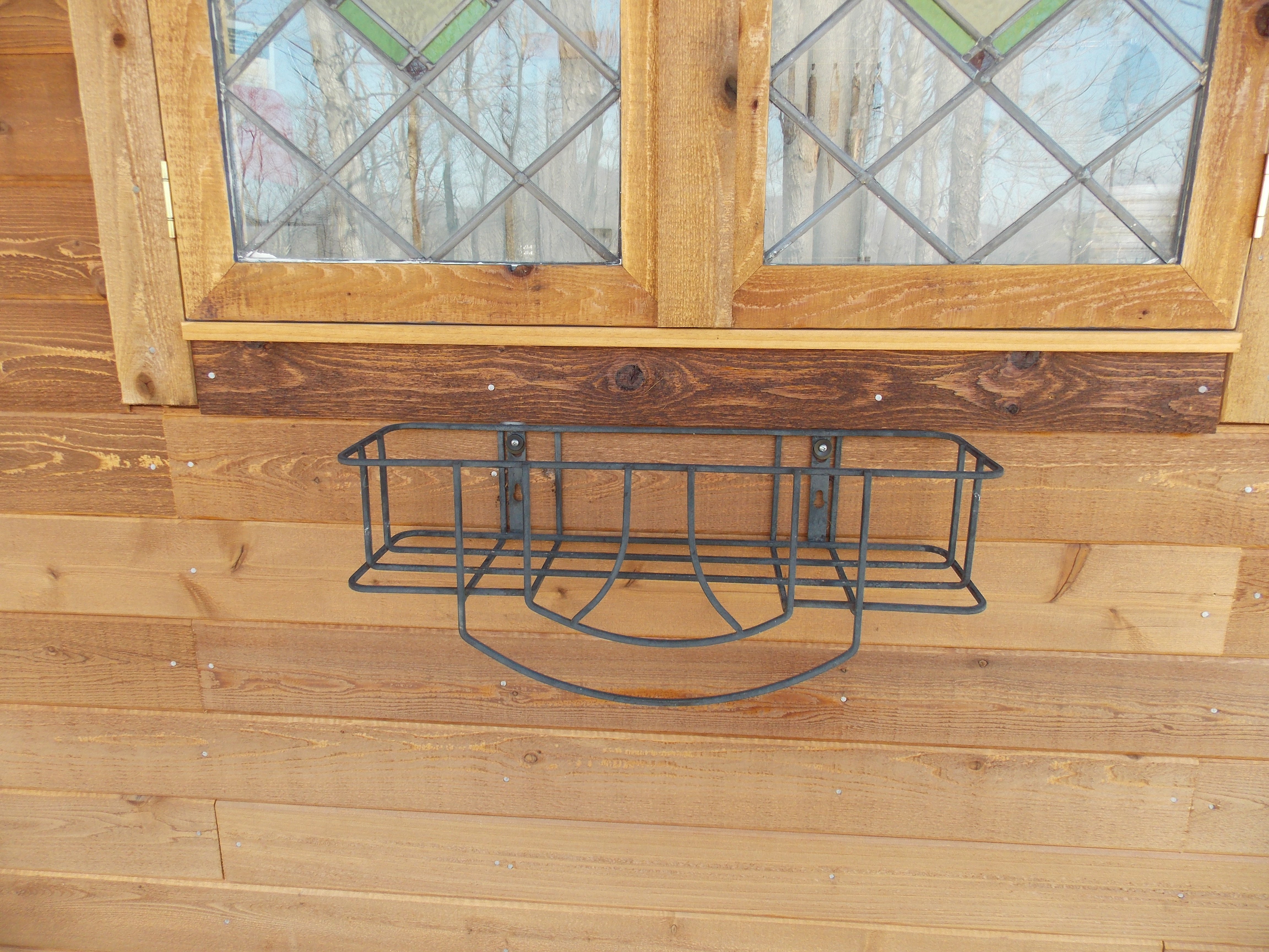 Wrought Iron Planter Needs Wood Liner