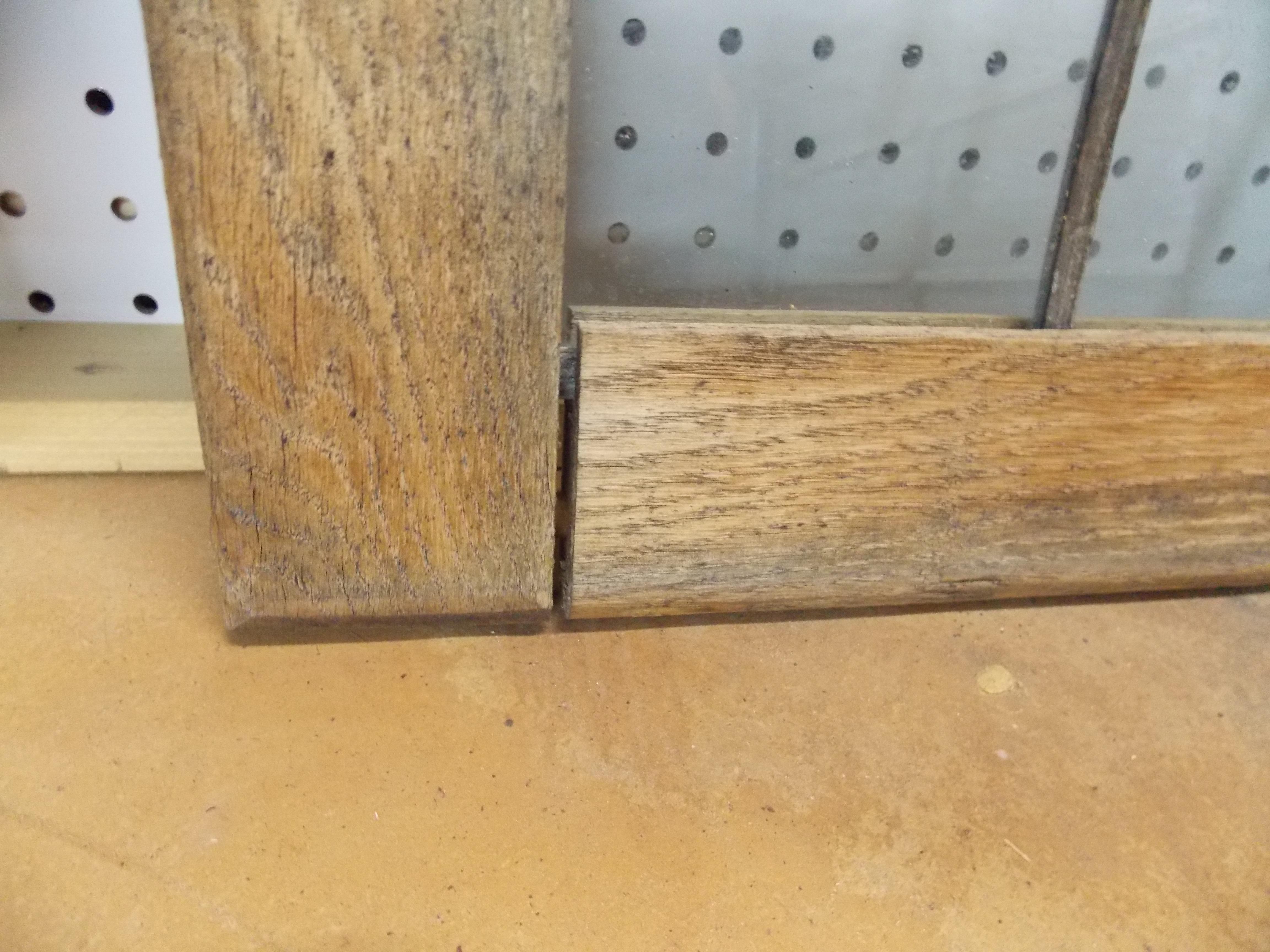 Architectural Salvaged Oak Frame in Disrepair