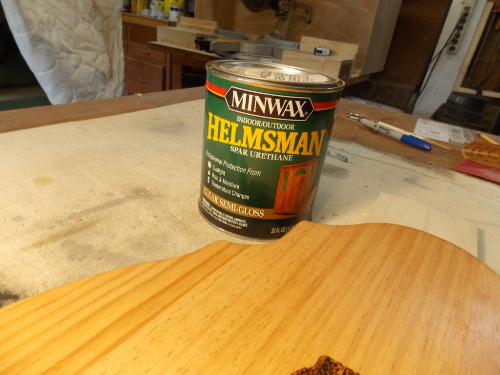 Apply Layer of Minwax Helmsman Spar Urethane for Protection