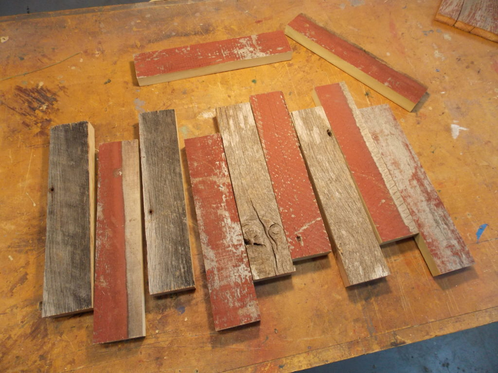 Pile of Reclaimed Barnboard