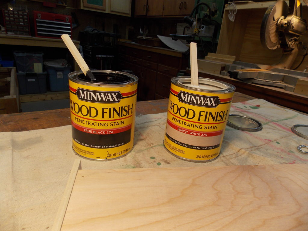 New Simply White & True Black Wood Finishes from Minwax