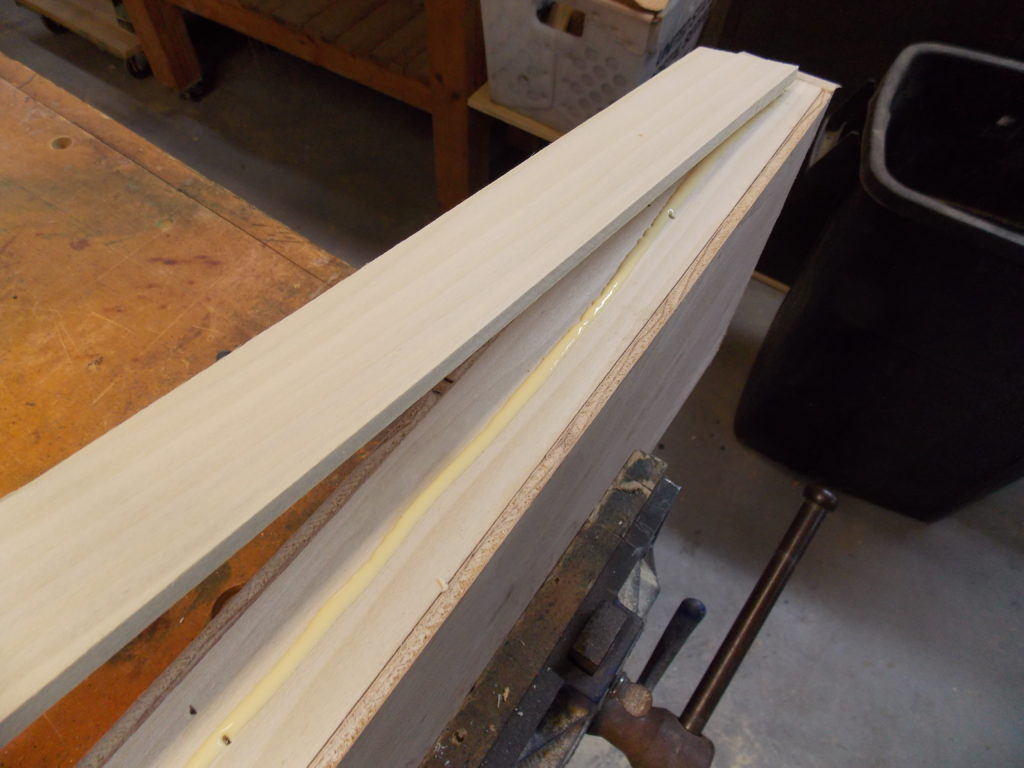 • Use Thin Strips of Wood to Hide Unsightly Edges on Shelves